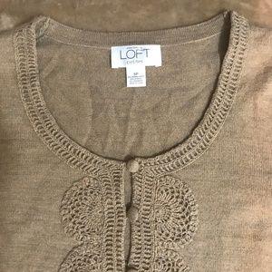 🆕Ann Taylor Loft Petites 3/$20 Wool Cardigan 👚11